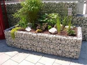 Hochbeet Im Garten : gabionen hochbeet steine im garten shop garten ~ Lizthompson.info Haus und Dekorationen