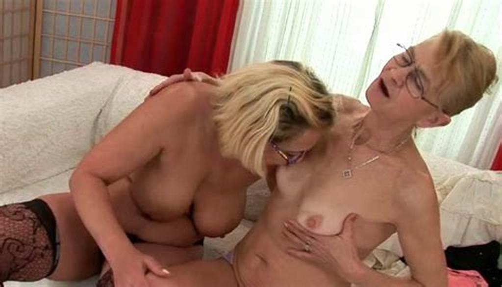 #Kinky #Grannies #Get #Naked #In #Provocative #Lesbian #Porn #Video