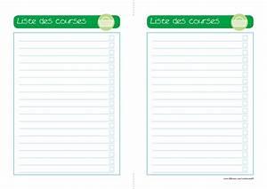 Liste De Courses À Imprimer Gratuitement : modele fiche recette cuisine vierge cb71 jornalagora ~ Nature-et-papiers.com Idées de Décoration