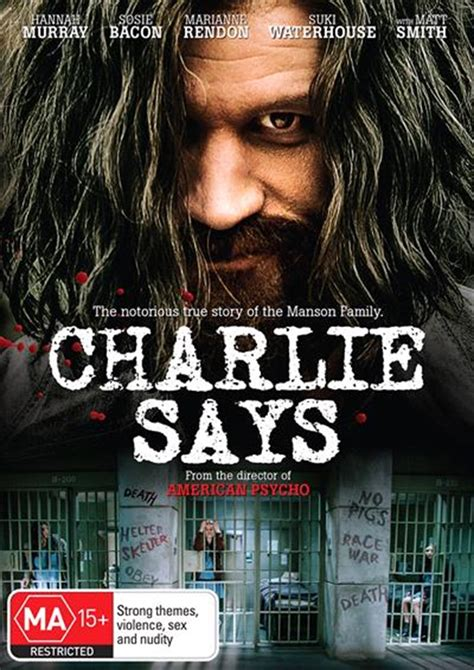 Buy Charlie Says on DVD | On Sale Now With Fast Shipping