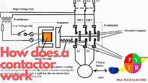 3 Pole Lighting Contactor Wiring Diagram