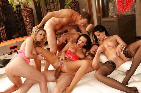 Groupsex Sex Gangbang In The Mountains Freckled Attractive Bitch Like A Groupsex With Foursome Well
