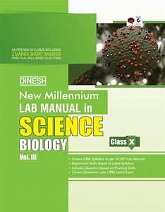 New Millennium Lab Manual Science Class 10  Set Of 3 Books