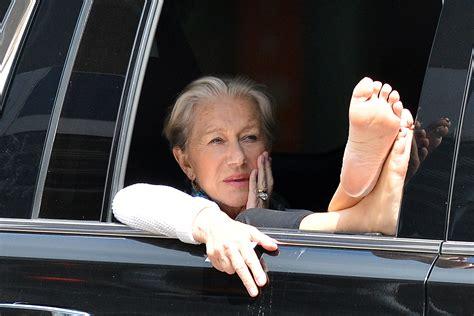 Helen Mirrens Feet