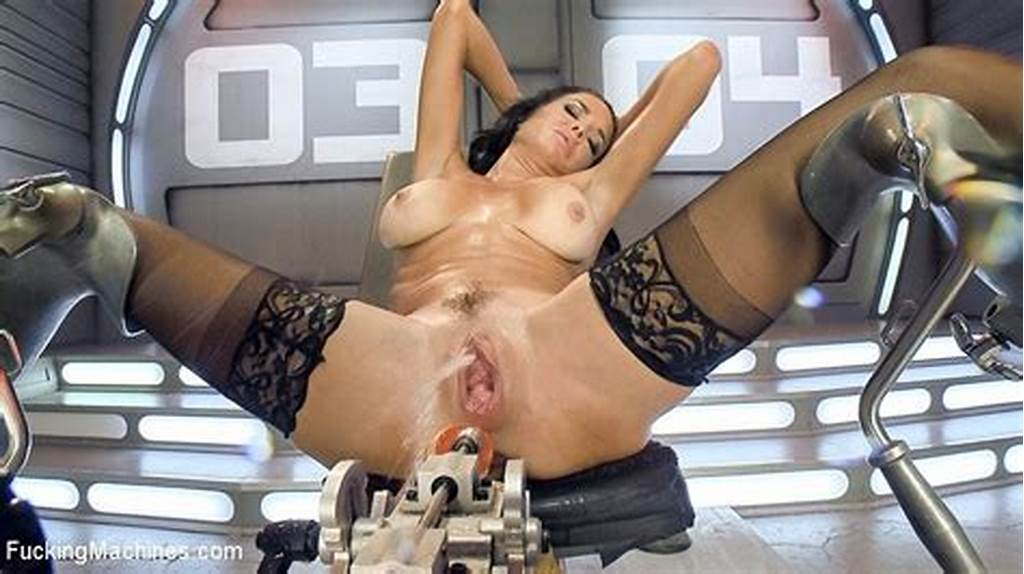 #Veronica #Avluv #Busty #Stockings #Milf #Squirts #From #Machine