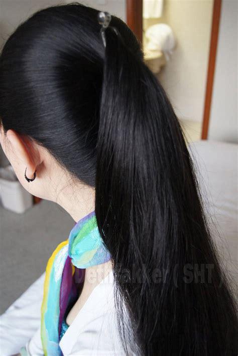 Ponytail / Kuncir Part 1 Rambut Panjang dan Indah