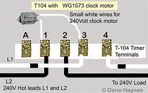 Intermatic Timer T104 Wiring Diagram