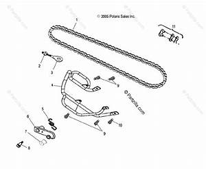 Polaris Atv 2004 Oem Parts Diagram For Chain   Cb