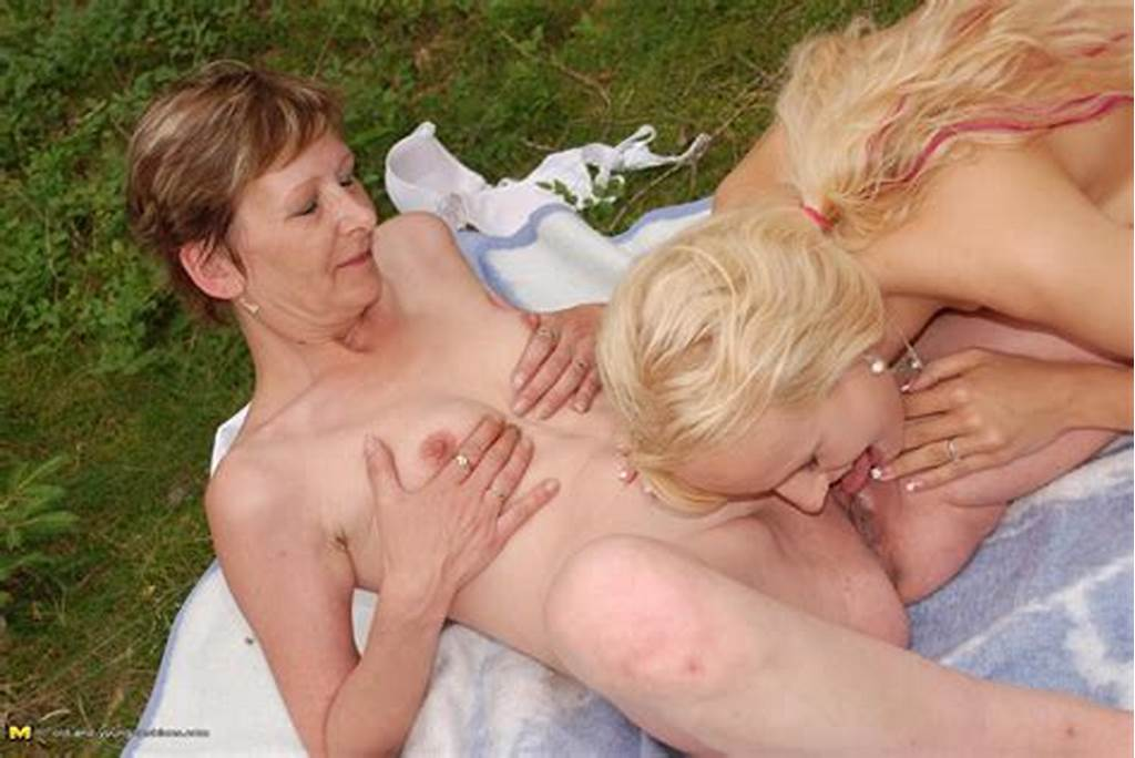 #Outdoor #Old #And #Young #Lesbians #Playing