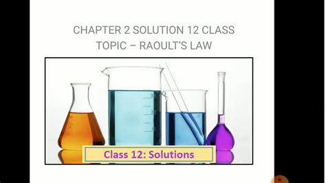 View Positive And Negative Deviation From Raoult's Law Examples PNG