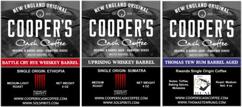 Coopers cask coffee is a recognized coffee brand, providing a huge variety of coffee bean products. Whiskey & Rum Barrel Aged Coffee Beans, Single Origin, Imported World Wide.