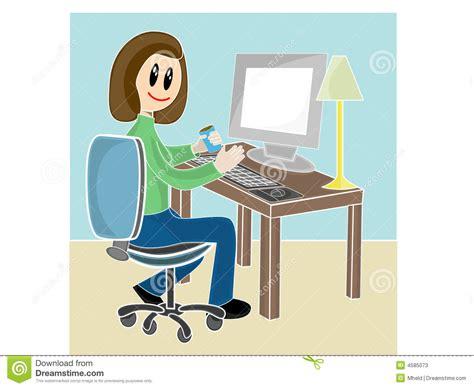 amour au bureau femme femme s 39 asseyant au bureau devant l 39 ordinateur