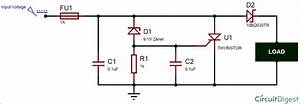 Crowbar Circuit Diagram For Overvoltage Protection