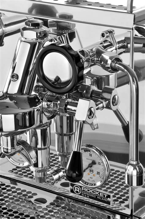 The r 58's dual, independently operated pid controlled boilers allow for optimum extraction of any coffee type or roast style. Rocket R58 Dual Boiler Pid Coffee Machine   Barista eShop