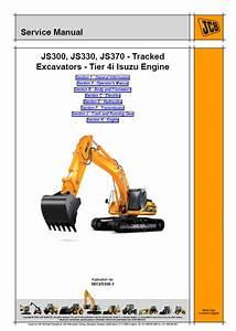 Jcb Excavators Js300 Js330 Js370 Tier 4i Isuzu Service
