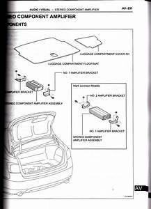 Lexus Is350 Stock Non Mark Levinson Amplifier Wire Diagram