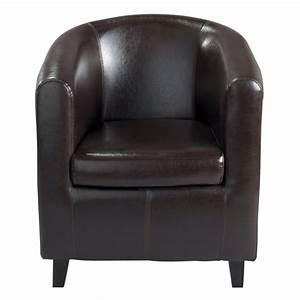 Fauteuil Club Cuir Maison Du Monde : fauteuil club marron nantucket maisons du monde ~ Melissatoandfro.com Idées de Décoration