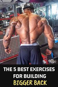 How To Get Massive Back With 5 Powerful Back Exercises