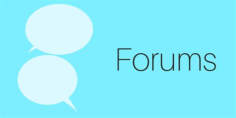 Using forums effectively - ways to improve engagement ...