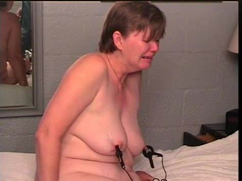 Superb Porn With Old Granny Segment Milf Woman Groans While Shocked By Electricity