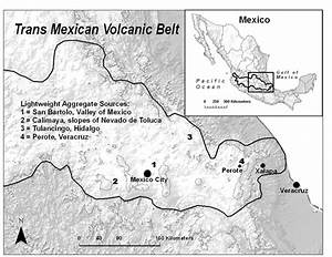 Central Mexican Lightweight Aggregate Mining Sites  Ed For