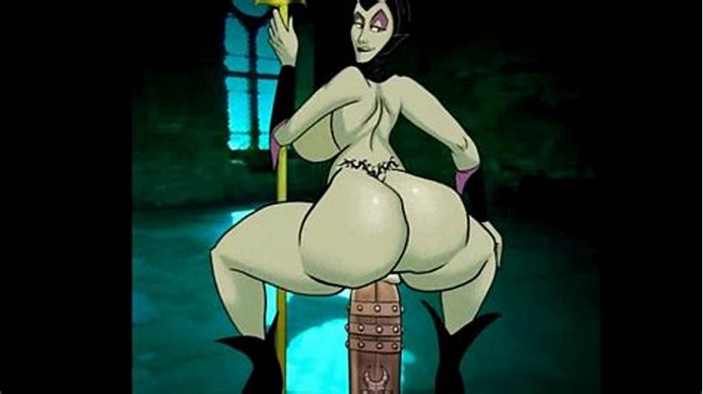 #Maleficent #Shakes #Her #Ass