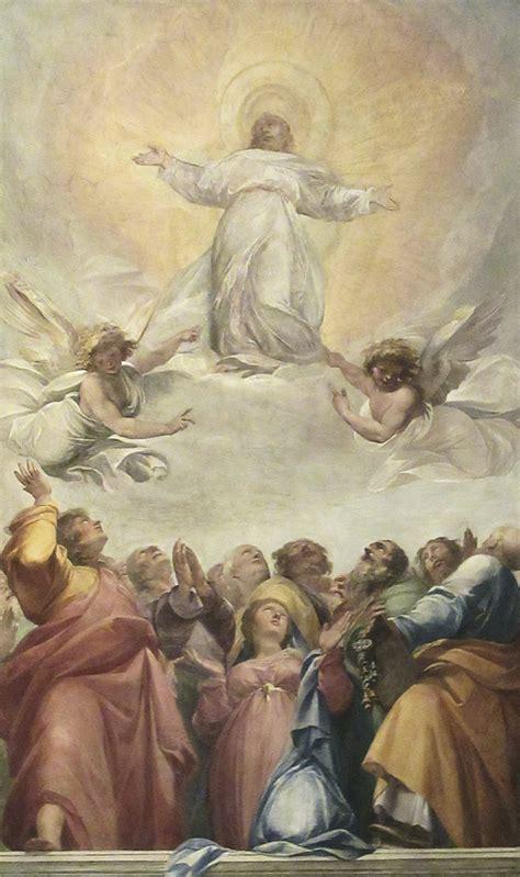 """Die """"himmelfahrt christi (andere namen für christi himmelfahrt sind: Christi Himmelfahrt - was bedeutet es für uns Christen ..."""