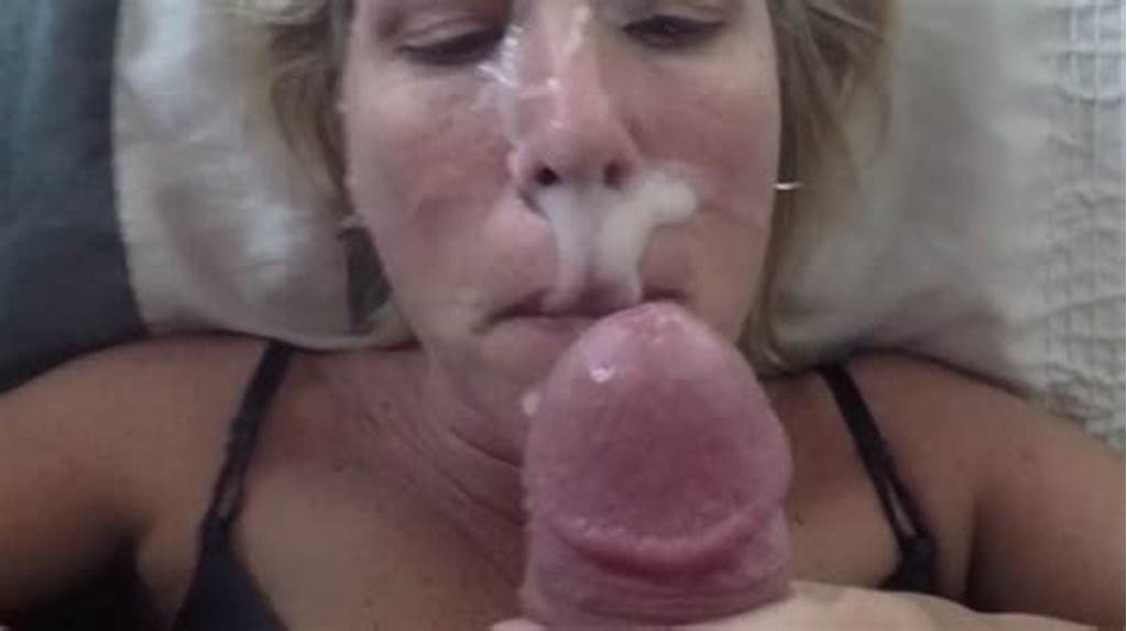 #Mature #Wife #With #Cum #On #Face