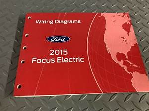 Factory 2015 Ford Focus Electric Electrical Wiring
