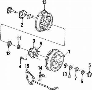 Ford Windstar Bearing  Wheel