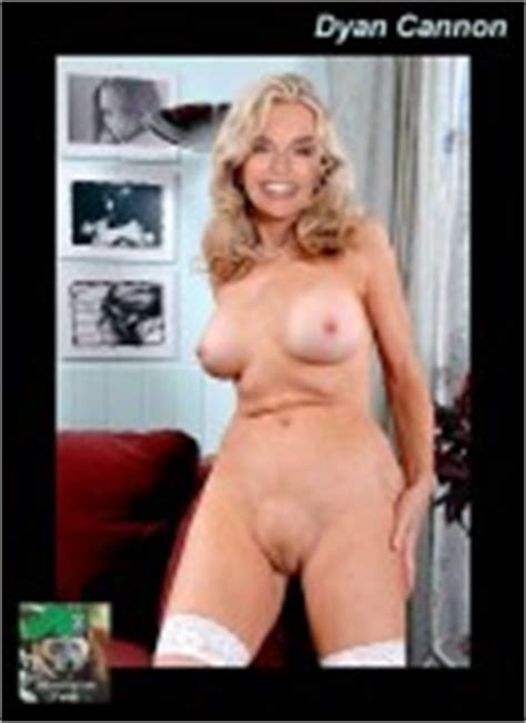 dyan cannon shows her hairy snatch