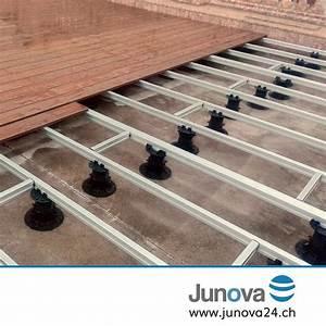 Unterkonstruktion Terrasse Alu : alu unterkonstruktion f r wpc oder holz terrassen junova 24 ~ Yasmunasinghe.com Haus und Dekorationen
