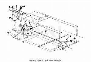 Mtd 13am675g062  1998  Parts Diagram For Transmission