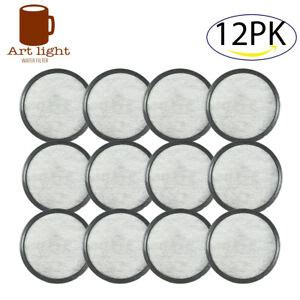 Coffee water filter replacement discs | activated charcoal coffee filters for mr. Mr Coffee Filter Activated Charcoal Disc Replacement WFF Water Cartridge -12Pack | eBay