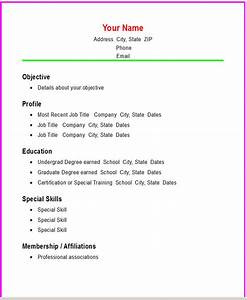Basic Chronological Resume Template Open Resume Templates 4219 Best Images About Job Resume Format On Pinterest Functional Resume Templates Basic Resume Templates Outline For A Resume Resume Template Pinterest