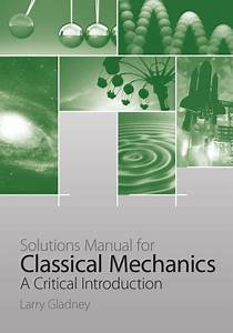 Download Solutions Manual For  U201cclassical Mechanics  A
