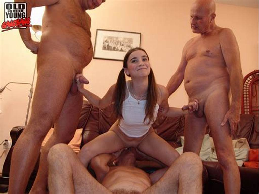 #Hot #Teen #Gets #Fucked #By #The #Old #Men #Gang