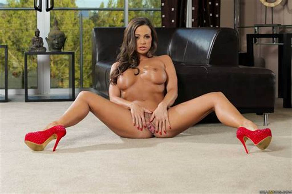 #Abigail #Mac #In #Sexy #Red #Heels #Posing #For #Your #Pleasure