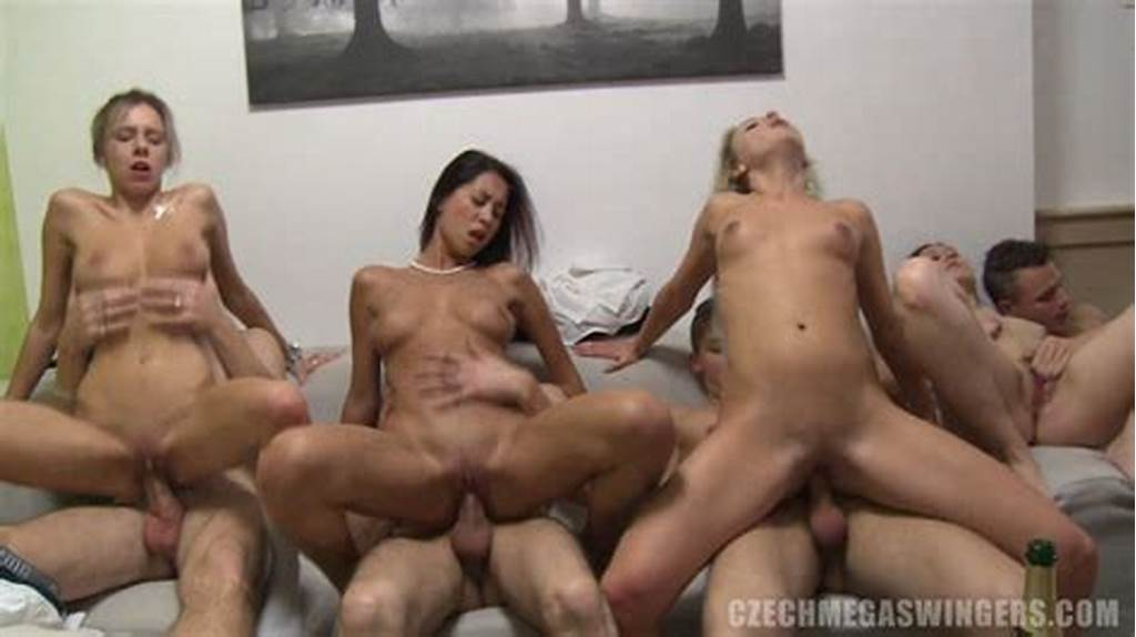 #Real #Swingers #Home #Orgy #Caught #On #Camera