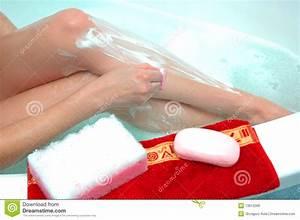 Depilation Stock Photo  Image Of Body  Care  Sponge  Towel