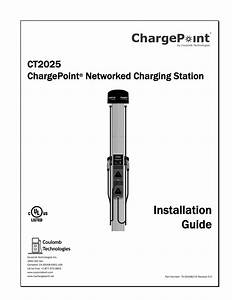 Installation Guide Ct2025 Chargepoint