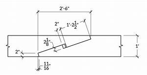 Scarf Joint With A Wedge