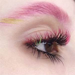 Ombr U00e9 Colored Lash Extensions Are Trending On Instagram