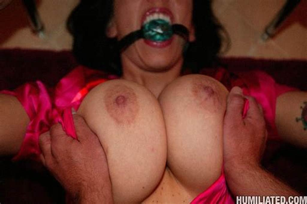 #Huge #Tit #Milf #Tied #Up #And #Fucked
