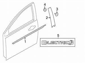 Ford Focus Nut  Door  Trim  Panel  Inside