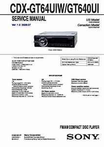 Bestseller  Sony Xplod Cdx Gt640ui Manual