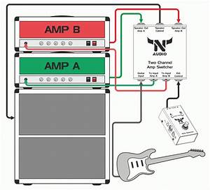 How To Wire Two Amps Together Diagram
