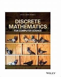 Discrete Mathematics For Computer Science Liben