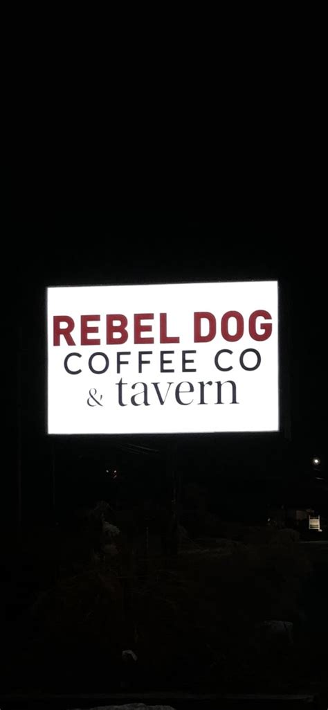 Curbside pickup will continue to be available; Rebel Dog Coffee Co. Gluten Free - Plainville - 2021
