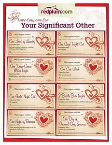 Romantic love coupon template printable love coupons for for Sex coupon template